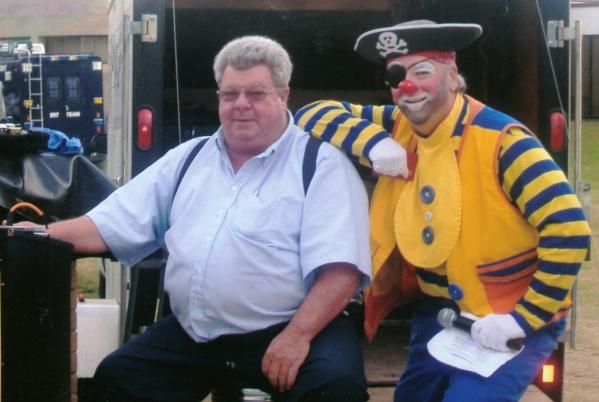 Ubi the pirate clown