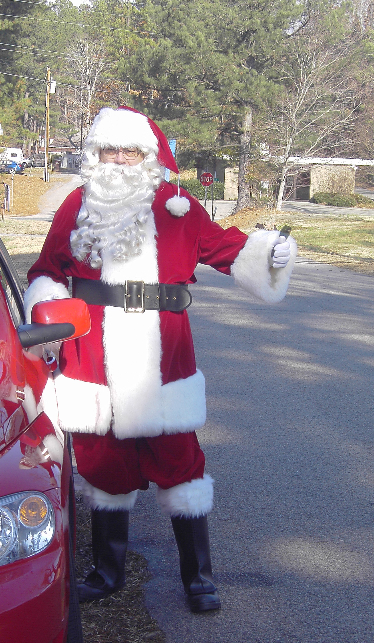 Santa and his HHR