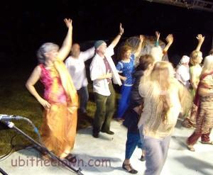 More dancing.